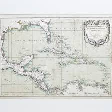 Gulf Of Mexico On Map by French Map Of The Gulf Of Mexico M Rizzi Zannoni Expertissim