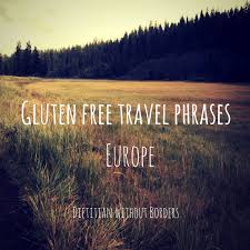 travel phrases images European gluten free travel phrases dietitian without borders png