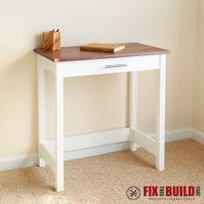 Small Black Writing Desk White Writing Desk Diy Projects Throughout Small Writing Table