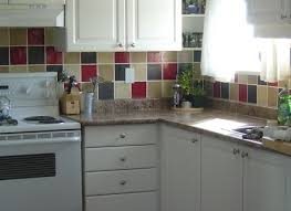 Color Forte Colorful Slate Tile by 40 Striking Tile Kitchen Backsplash Ideas Amp Pictures Within