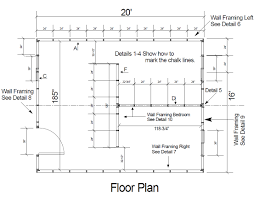 simple house floor plan measurements details home building plans