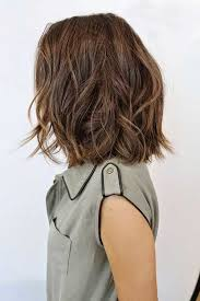 jagged layered bobs with curl 25 latest medium hairstyles for wavy hair haircuts 2016