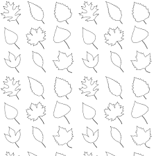 Thanksgiving Leaf Template Leaf Patterns To Color 30 Secondswaandj