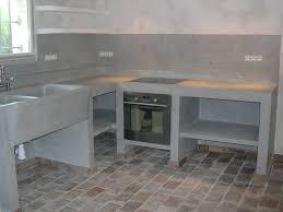 cuisine en béton ciré entreprise poli christophe béton ciré le beausset le castellet