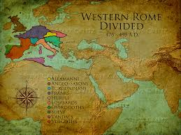 Map Rome Rome Divided Map Hd U2014 Creitz Illustration Studio