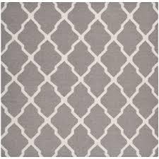 Grey Dhurrie Rug Safavieh Handwoven Moroccan Reversible Dhurrie Geometric Pattern