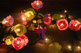 How To Make Fairy Lights From Egg Cartons By Retedart Crafts
