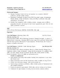 management skills in resume resume
