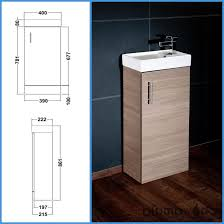 premier nvx192 400 mm minimalist full standing unit and basin