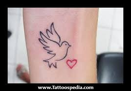 dove wrist tattoos small 20dove 20tattoos 20girls 201 small dove