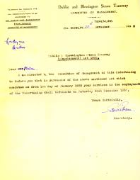 Termination Employment Letter by Source South Dublin Libraries U0027 Digital Archive Termination Of