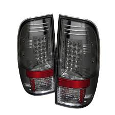 2016 f350 tail lights 2008 2016 f250 super duty spyder led tail lights smoked sl5003935
