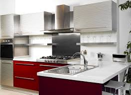 Kitchen Wall Design by Red And White Kitchen Decorating Ideas Outofhome
