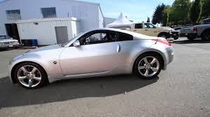 Nissan 350z Coupe - 2007 nissan 350z silver alloy metallic 7m550650 redmond