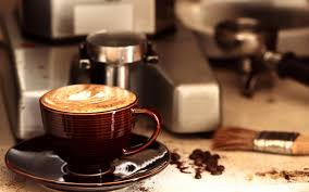 wallpaper coffee cup and the machine my hd wallpapers