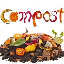 compost cuisine compost pile soil of kitchen scraps stock photo madllen 41479939
