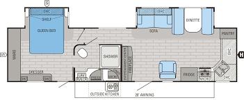 100 montana 5th wheel floor plans 2016 eagle fifth wheel