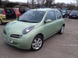 nissan micra gumtree manchester swainsthorpe motor co 2005 nissan micra 1 2 green 3 door mot 15th