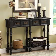 Table Ls Living Room Furniture Traditional Console Table With Drawers Tables Living