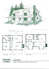 log cabin with loft floor plans plans 2 story log cabin floor plans