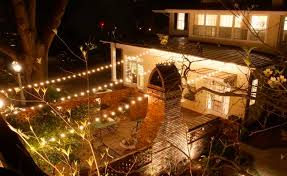 outdoor sockets for christmas lights 50 socket outdoor patio string light set g40 clear globe bulbs 51