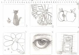sketch ideas for beginners pencil drawing ideas beginners pencil