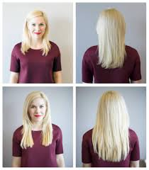Before After Hair Extensions by Extensions Blo Out Bar Oklahoma City