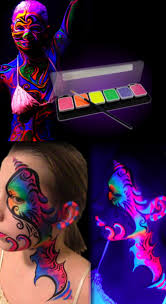 glow in the dark halloween pajamas glow in the dark body paint party ideas pinterest body