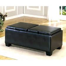 ottoman with storage and tray leather ottoman with storage axmedia info