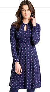 nursing wear geo floral maternity nursing dress