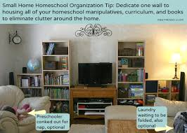 Organizing A Living Room by Organizing Tips When You Homeschool In A Small Home Meet Penny