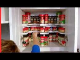 As Seen On Tv Spice Rack Organizer Masterpiece Spicy Shelf Patented Stackable Organizer Youtube