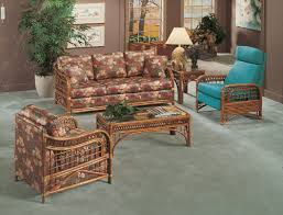 Rattan Sleeper Sofa Caliente Wicker Collection From Classic Rattan Model 1500