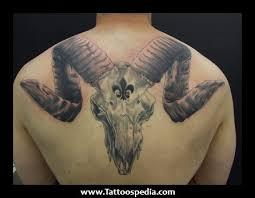 ram skull tattoos