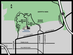 griffith park map getting to griffith observatory