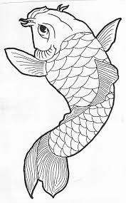 simple draw koi fish tattoo design tattooshunter com