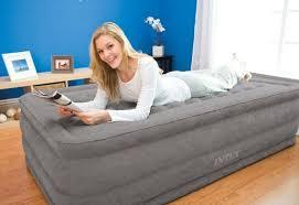 materasso intex singolo letto gonfiabile singolo ultra plush di intex 99x191x46 cm