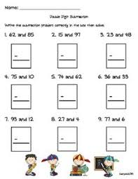 use these worksheets to practice two digit subtraction without