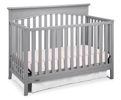 Graco Lauren 4 In 1 Convertible Crib by Graco Lauren Convertible Crib Pebble Gray Cribs Decoration