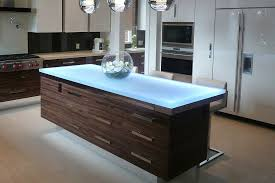 kitchen island led lighting trends speaking glass countertops with vladimir kitchen island led