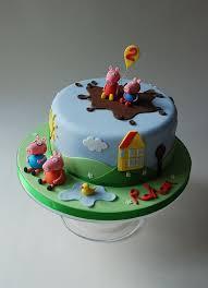 Best 25 George Pig Cake Ideas On Pinterest Peppa Pig Birthday