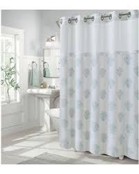 Coral And Grey Shower Curtain Sweet Deal On Hookless Coral Reef 80 Inch X 54 Inch Shower Curtain