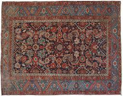 acquisto tappeti persiani heriz antico bordura a foglia dentellata morandi tappeti