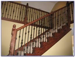 deck railing with aluminum balusters decks home decorating