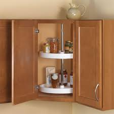 lazy susan for kitchen cabinet rev a shelf 32 in h x 24 in w x 24 in d white polymer 2 shelf