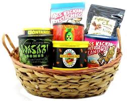 nuts gift basket fiery nuts gift basket ghost pepper habanero wasabi