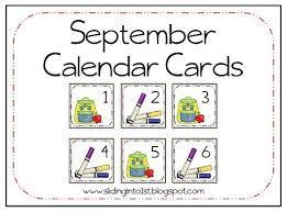 101 best monthly calendar cards images on calendar