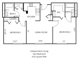 Easy Floor Plans by Springfield Independent Living Community The Montclair Photo Gallery
