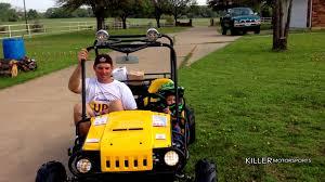 kids gas jeep tao tao 125cc jeep max go cart tt atk125 a youtube