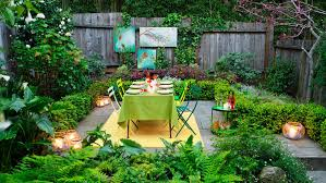 How To Design Your Backyard How To Design A Party Yard Sunset